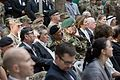 U.S. and coalition service members sit with civilian guests during the International Security Assistance Force and U.S. Forces-Afghanistan change of command ceremony Aug. 26, 2014, in Kabul, Afghanistan 140826-D-HU462-579.jpg