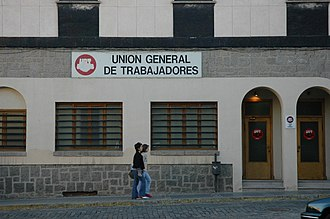 Unión General de Trabajadores - Local UGT office, Ávila, Spain