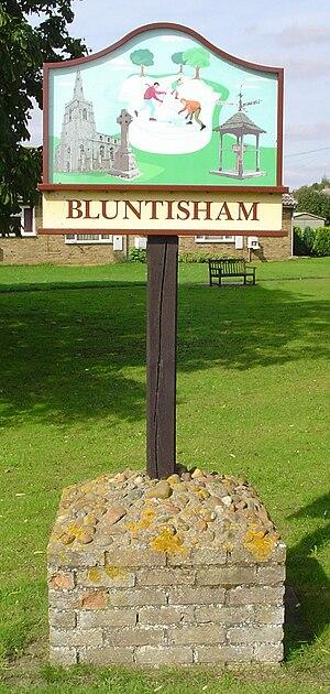 Bluntisham - Image: UK Bluntisham