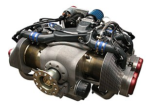 Flat-four engine - Flat-four aircraft engine