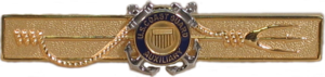Marine Safety Insignia - USCG Auxiliary Trident Device