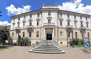 university in Lugano and Mendrisio, Switzerland