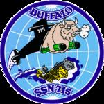 USS Buffalo SSN-715 Crest.png