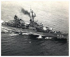 USS Charles P. Cecil, 1971