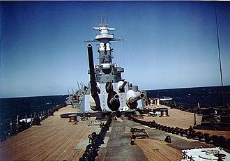 World War II ship camouflage measures of the United States Navy - Image: USS North Carolina May 1941