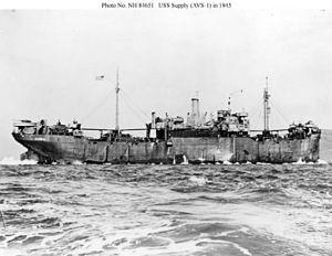 USS Supply (IX-147) - Image: USS Supply (AVS 1)
