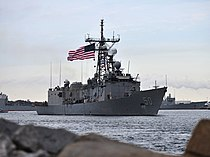USS Taylor (FFG-50) leaving Mayport in January 2014.JPG