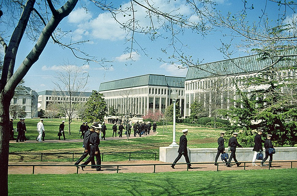 US Naval Academy campus