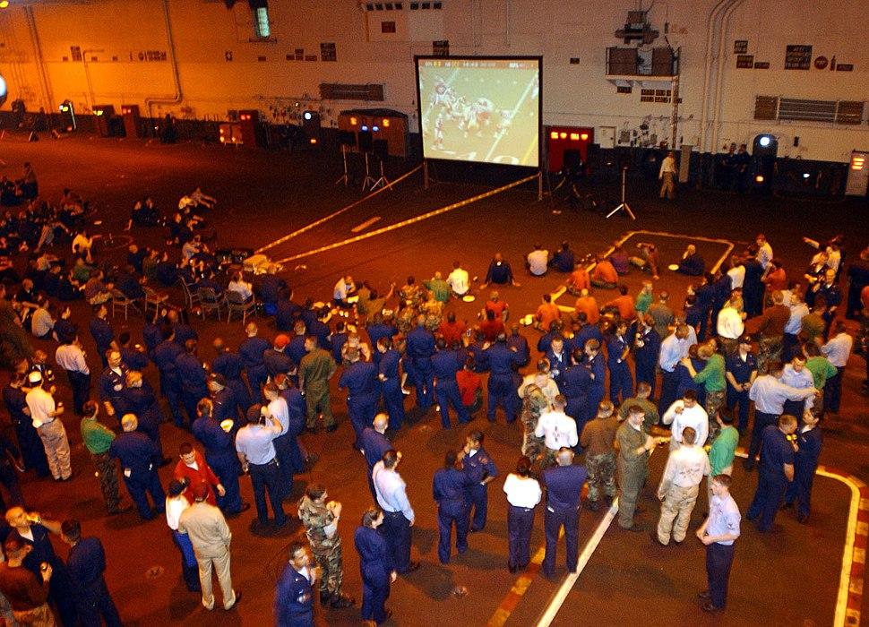 US Navy 020204-N-6442M-022 Superbowl