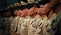 US Navy 080916-N-9769P-144 Newly pinned chiefs stand at attention during Naval Station Guantanamo Bay's Chief Pinning Ceremony.jpg