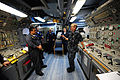 US Navy 100125-N-2953W-245 Rear Adm. Ted N. Branch, commander of Carrier Strike Group (CVW) 1, addresses and thanks Sailors assigned to the guided-missile frigate USS Underwood (FFG 36) for their commitment to Operation Unified.jpg