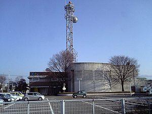 UHF Television Yamanashi - TV Yamanashi HQ and Studio, Kōfu