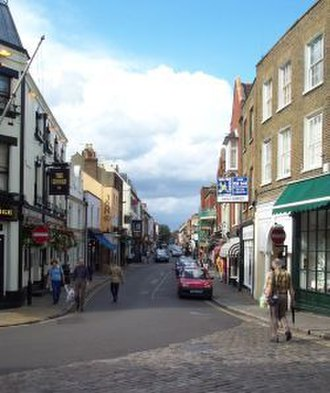 Eton, Berkshire - Image: Uk eton high street
