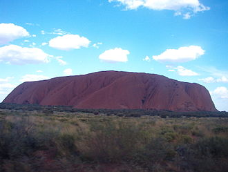 Indigenous peoples of Australia - The Pitjantjatjara people live in the area around Uluru.