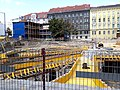 Umbau Hauptverband Ri Kreuzung mit Post im Hintergrund.jpg