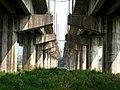 Under the Dadu Bridge(1988), Taiwan Railway(TRA),Feb 2007.jpg