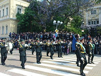 Bulgarian Armed Forces Day - Image: Unit UA Parade