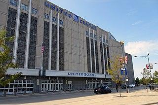 United Center Large indoor arena in Chicago, Illinois, United States