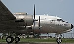 United States Air Force - Douglas Aircraft Company C-54D Skymaster cargo plane 7 (29265462307).jpg