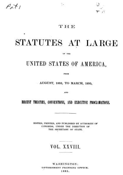 File:United States Statutes at Large Volume 28.djvu