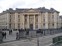 Université Paris 1 Panthéon - Sorbonne. Entrée du Centre Panthéon (1).JPG