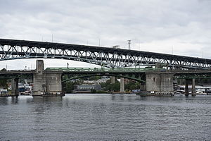 University Bridge (Seattle) - Image: University Bridge and Ship Canal Bridge