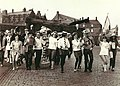 University of Stirling students in front of Stirling Castle.jpg