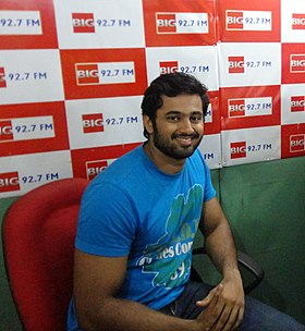 Unnimukundan at 92.7 Big fm Trivandrum.jpg