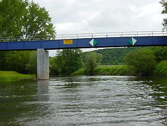 Unstrut - Bridge over the Unstrut