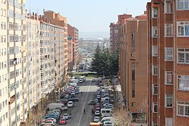 Urbanization in the Gamonal district.jpg