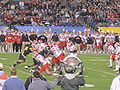 Utes on offense at 2009 Poinsettia Bowl 19.JPG