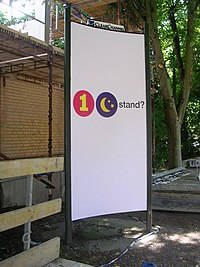 "Billboard in Lund, Sweden, saying ""One Night Stand?"" (2005)"