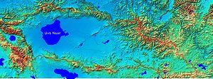 Uvs Lake - Uvs Lake drainage basin