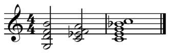 V–IV–I turnaround - Image: V IV I turnaround in C