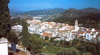 La Vall de Laguar - Image: V General Vall Laguar