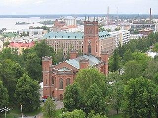 Vaasa City in Ostrobothnia, Finland