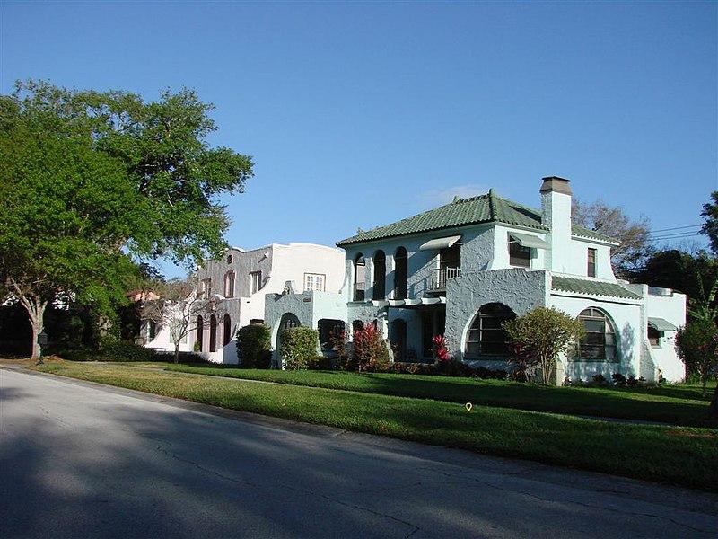 florida subdivision public domain