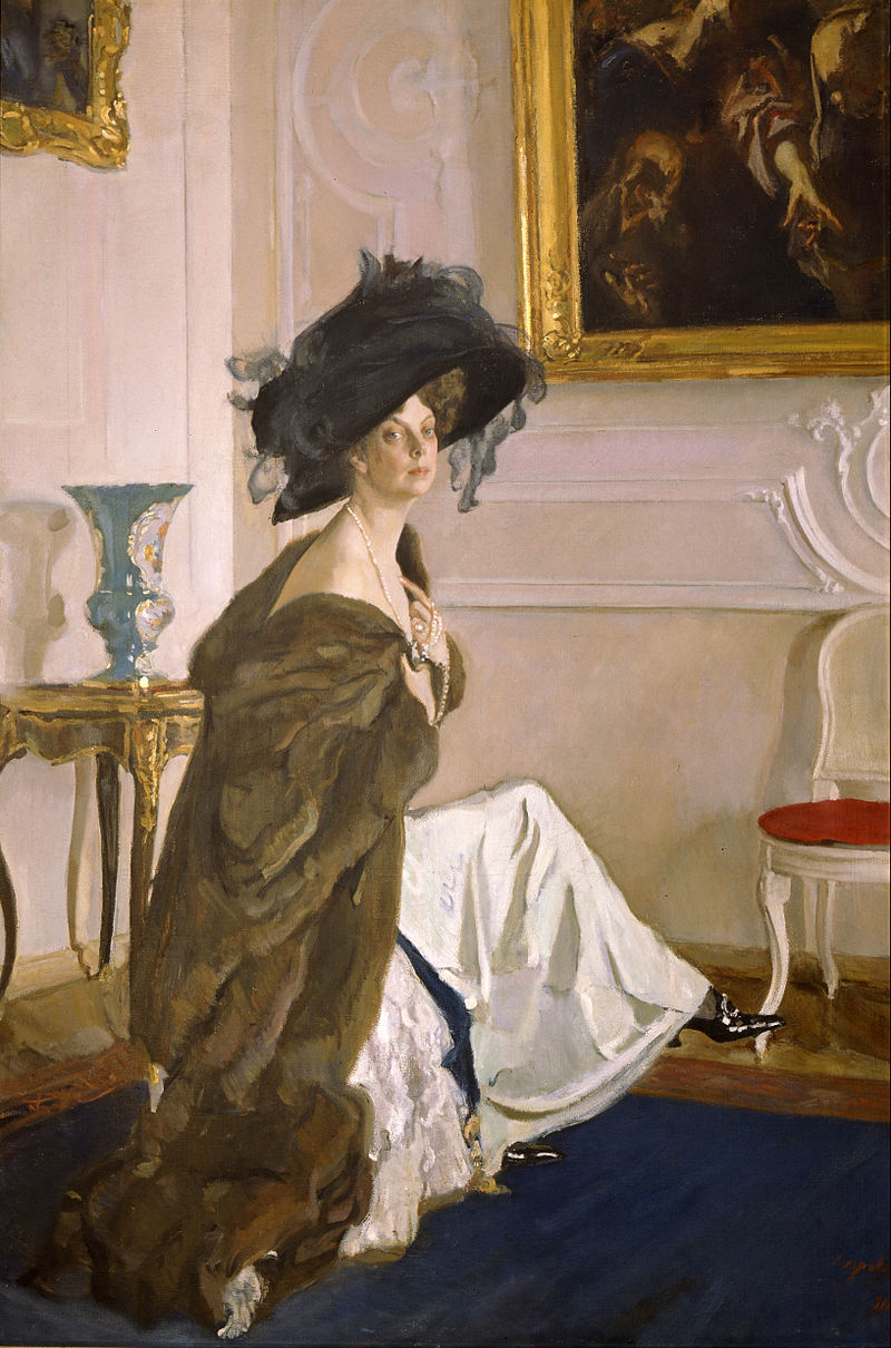 Valentin Serov - Portrait of Princess Olga Orlova - Google Art Project.jpg