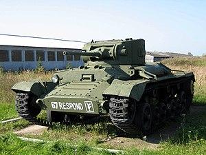 Valentine tank - Valentine II at Kubinka Tank Museum, Russia