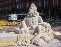 Valladolid esculturas arena Cervantes 02 ni.jpg