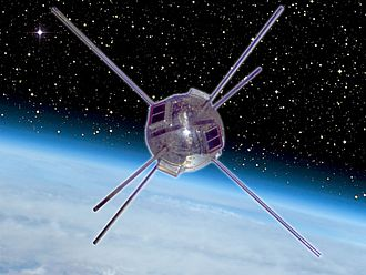 Les Hoffman - Vanguard 1, launched in 1958, was the first major application of the use of photovoltaic (solar) cells as a source of energy. The panels or arrays consisted of solar cells made by Hoffman Electronics, Semiconductor Division.