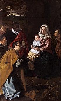 Velázquez - Adoración de los Reyes (Museo del Prado, 1619).jpg