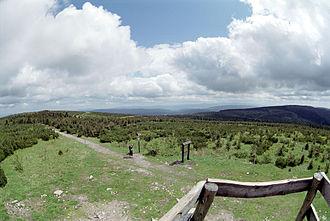 Orlické hory - View from Velká Deštná