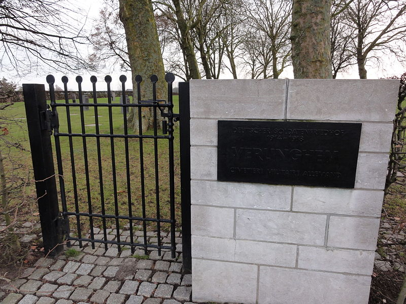 Deutscher Soldatenfriedhof Verlinghem in Verlinghem