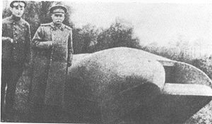 Only known photograph of Vezdekhod