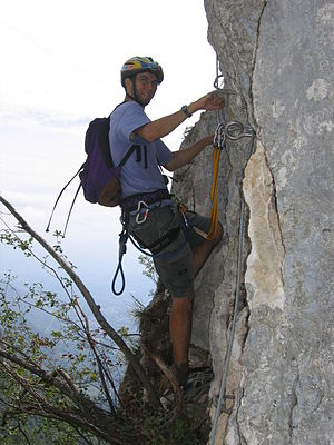 Un arrampicatore
