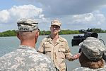 Vice Chief of Naval Operations Adm. Jonathan W. Greenert is interviewed by Joint Task Force Public Affairs officials DVIDS362973.jpg