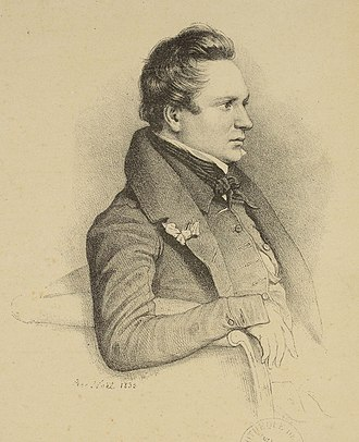 La Esmeralda (opera) - Victor Hugo, the librettist of La Esmeralda, in an 1832 portrait by Alphonse-Léon Noël