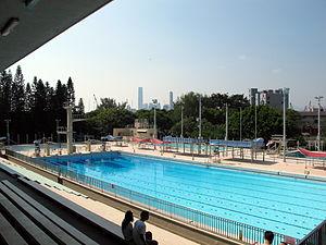 Public swimming pools in Hong Kong - The former pool at Victoria Park, the first public swimming venue in Hong Kong.