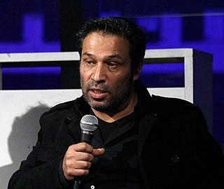 Shoja Azari Iranian-born visual artist and filmmaker